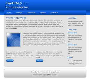 freehtml5blue