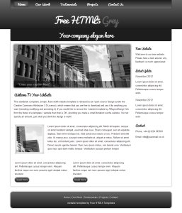 freehtml5grey